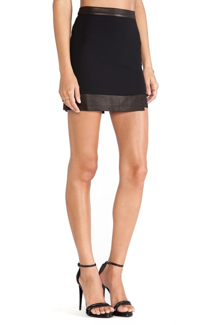 Item - Black Andra Mini Skirt Size 8 (M, 29, 30)
