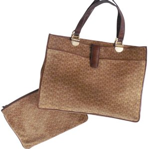 Bottega Veneta Suede Leather Butterfly Tote in Brown