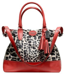 Coach New With Ocelot Print Limited Edition Neverfull Shoulder Bag