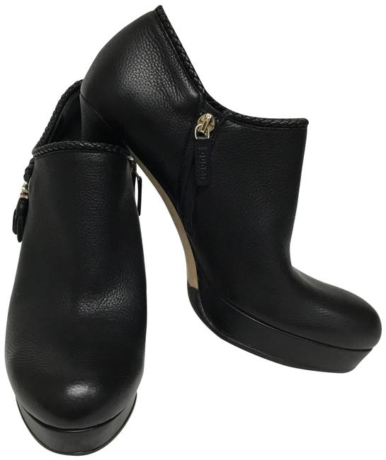 Gucci Black With Gold Gg Tassel Boots/Booties Size EU 38.5 (Approx. US 8.5) Regular (M, B) Gucci Black With Gold Gg Tassel Boots/Booties Size EU 38.5 (Approx. US 8.5) Regular (M, B) Image 1