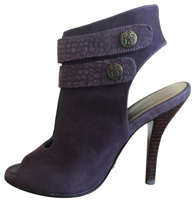 Item - Purple Merry Suede Ankle Strap Boots/Booties Size US 5 Regular (M, B)