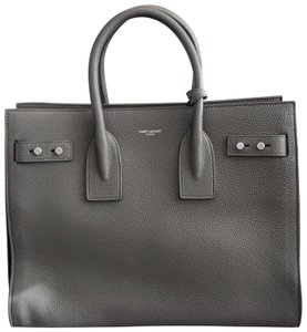 Saint Laurent Lock Sac De Jour Sdj Tote in gray