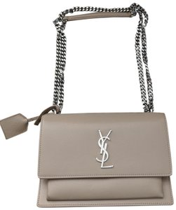Saint Laurent Sunset Flap Cross Body Shoulder Bag