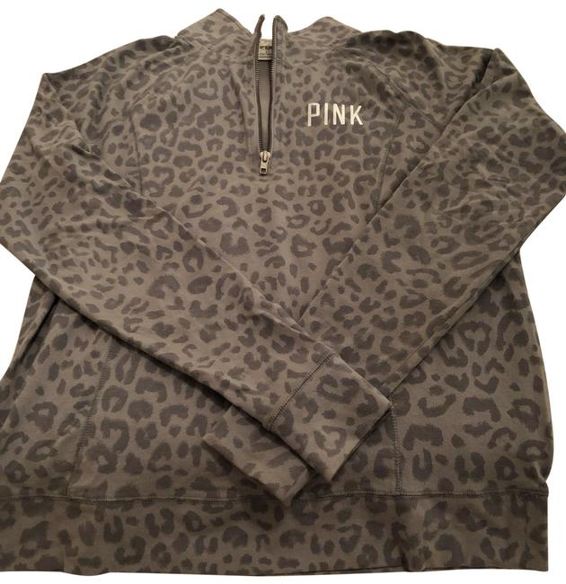 Item - Grey Leopard Pink Activewear Outerwear Size 12 (L)