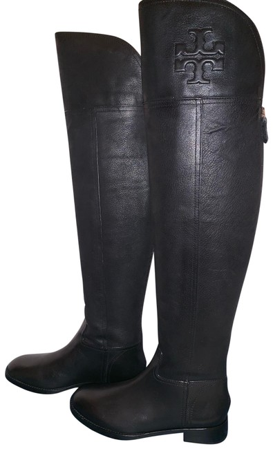 Item - Black Simone Over The Knee Boots/Booties Size US 6 Regular (M, B)