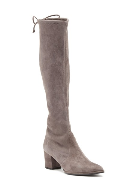 Item - Grey Cleveland Knee High Boots/Booties Size US 7.5 Regular (M, B)