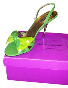 Betsey Johnson Green Sandals