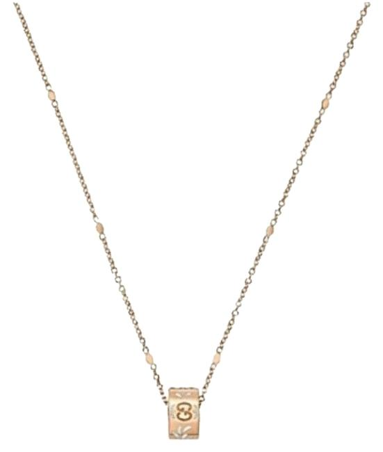 """Item - Rose Gold 18k Icon Blooms Twirl 16"""" Necklace"""
