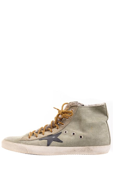 Item - Olive High-top Sneakers Size EU 41 (Approx. US 11) Regular (M, B)