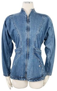 Elevenses New With Tag Anthropologie Boho Retro Inspired Womens Jean Jacket