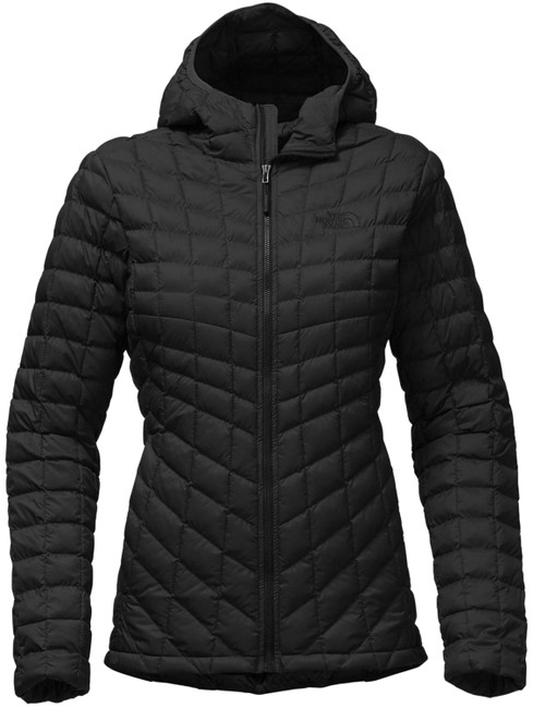 Item - Black Women's Thermoball Hoodie Outdoor Jacket Coat Size 2 (XS)