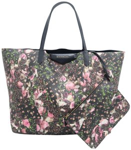 Givenchy Floral Antigona Calfskin Tote in MULTICOLORE