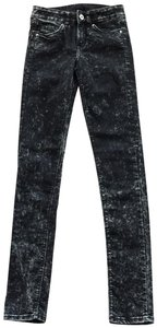 Divided by H&M Acid Wash Skinny Jeans