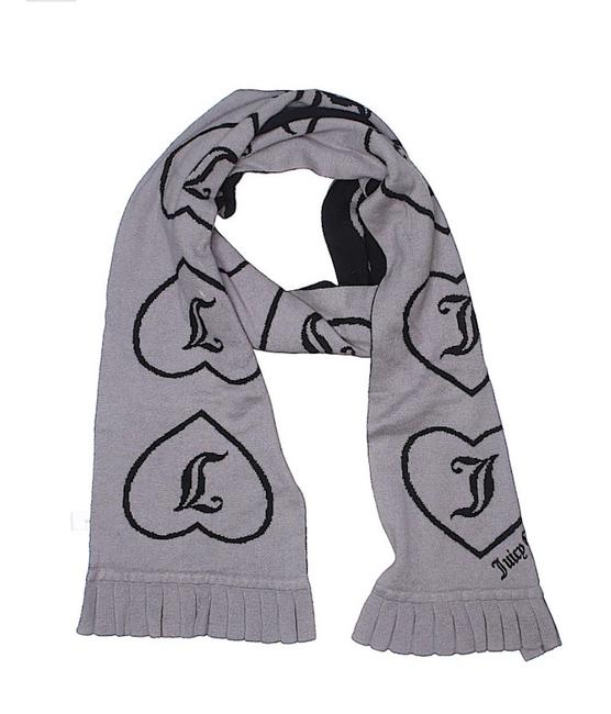 Juicy Couture Gray By One Size Scarf/Wrap Juicy Couture Gray By One Size Scarf/Wrap Image 1