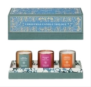 Crabtree & Evelyn crabtree and evelyn christmas candle trilogy