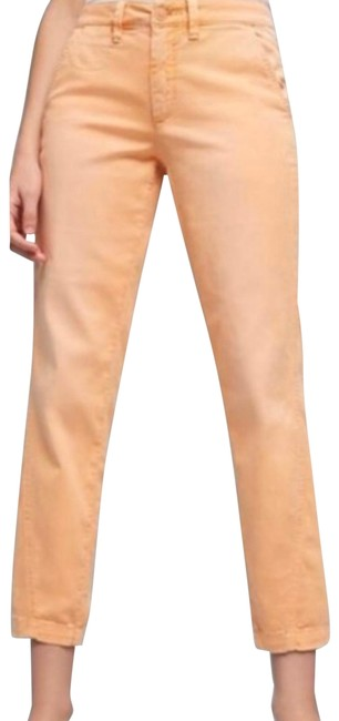 Item - Peach Relaxed Chino Pants Capris Size 26 (Plus 3x)