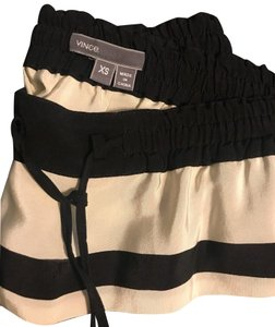Vince Relaxed Pants black and white