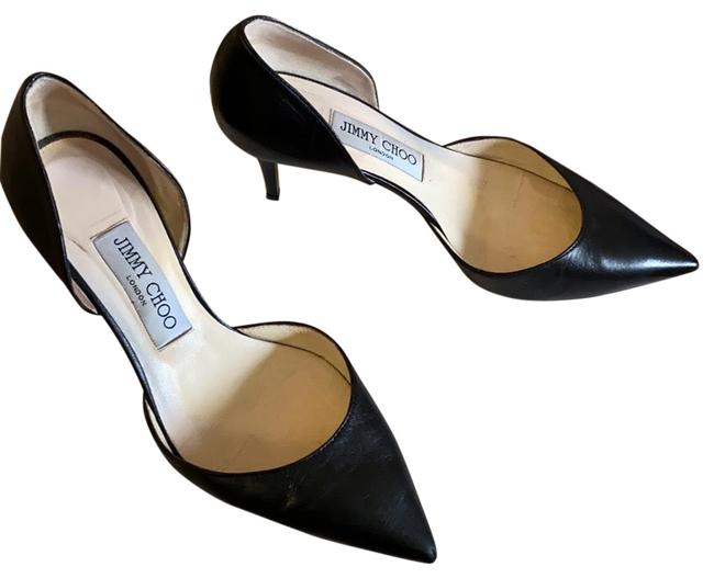 Item - Black Mariella Kid Leather Pumps Size US 6.5 Regular (M, B)