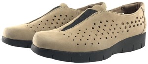 Clarks Suede Loafer Sneakers Artisan tan Flats