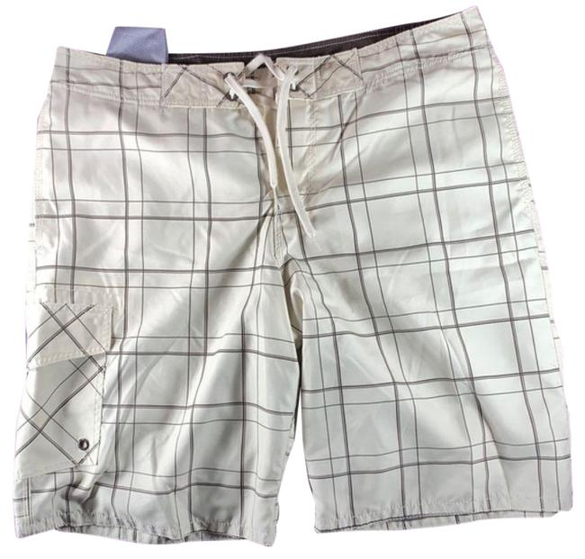 Item - Brown & Tan XL Men's Swim Trunks Shorts Size 16 (XL, Plus 0x)