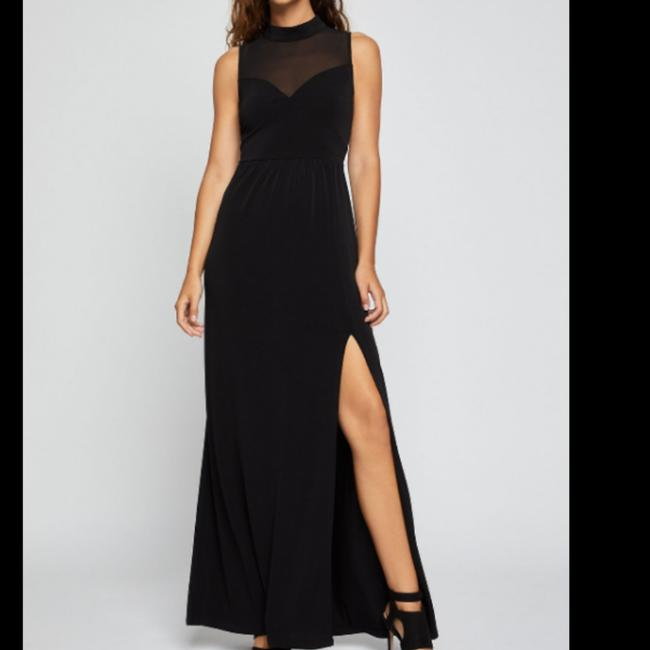 BCBGeneration Black Xye62p45 Long Casual Maxi Dress Size 00 (XXS) BCBGeneration Black Xye62p45 Long Casual Maxi Dress Size 00 (XXS) Image 1
