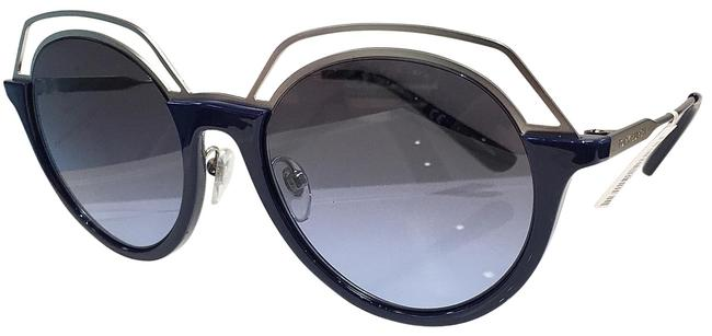 Item - Navy/Silver- 1710/8f Women's Ty9052 Fashion Round Sunglasses