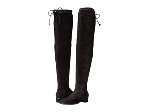 Aquatalia Suede Fitted Black Boots