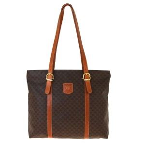 Céline Macadam Tote in Brown
