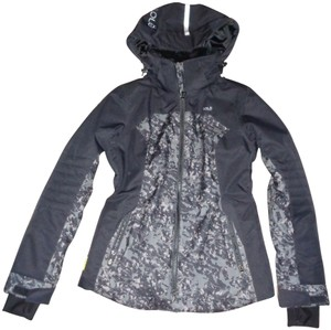 Lolë Water-repellant Sporty Edgy Hooded Coat