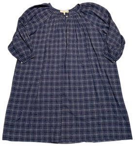 The Great. short dress blue Dreamer Plaid on Tradesy