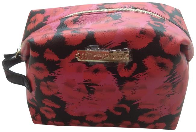 Item - Pink New Hot Red & Cosmetic Bag