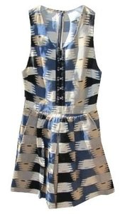 3.1 Phillip Lim short dress Black, blue, and white on Tradesy