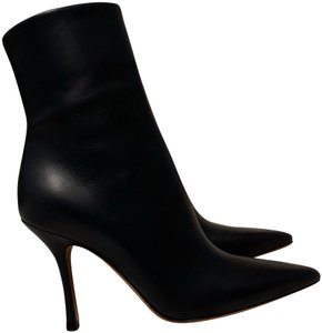 The Row Navy Boots