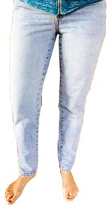 Banana Republic Designer Straight Leg Jeans-Light Wash