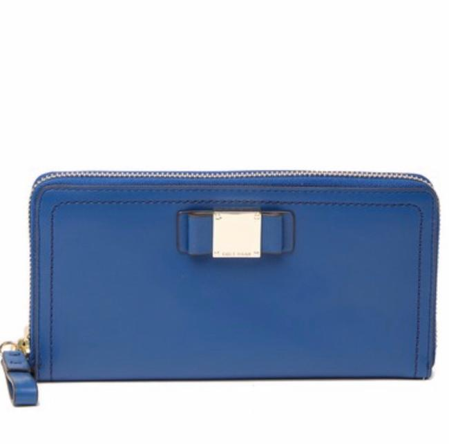 Item - Blue Tali Continental Leather Wallet