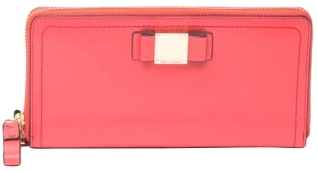 Item - Red Tali Continental Leather Wallet