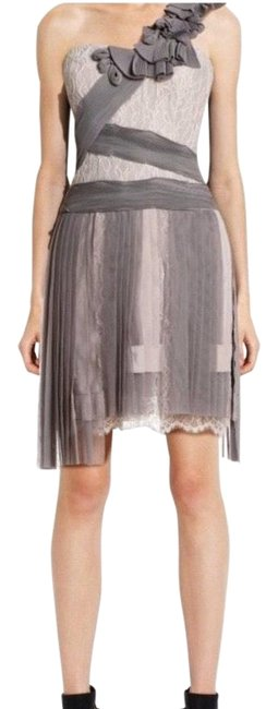 Item - Pink Runway Bare Lace Pleated Short Cocktail Dress Size 2 (XS)