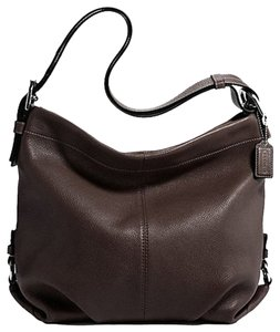 Coach Leather Duffle Hobo Bag
