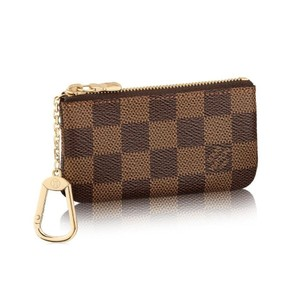 Louis Vuitton Brand New Louis Vuitton Damier Ebene Key Pouch Coin Purse