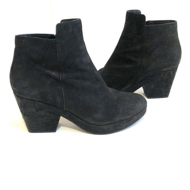 Item - Black Leather Bluff Ankle Boots/Booties Size US 9 Regular (M, B)