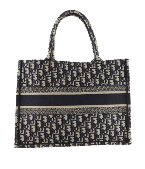 Christian Dior Canvas Tote in blue Image 2