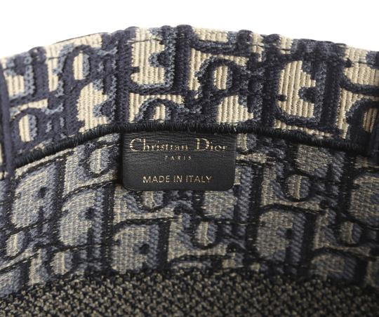 Christian Dior Canvas Tote in blue Image 9