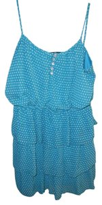 As U Wish short dress Turquoise Tiered Layered Tier on Tradesy