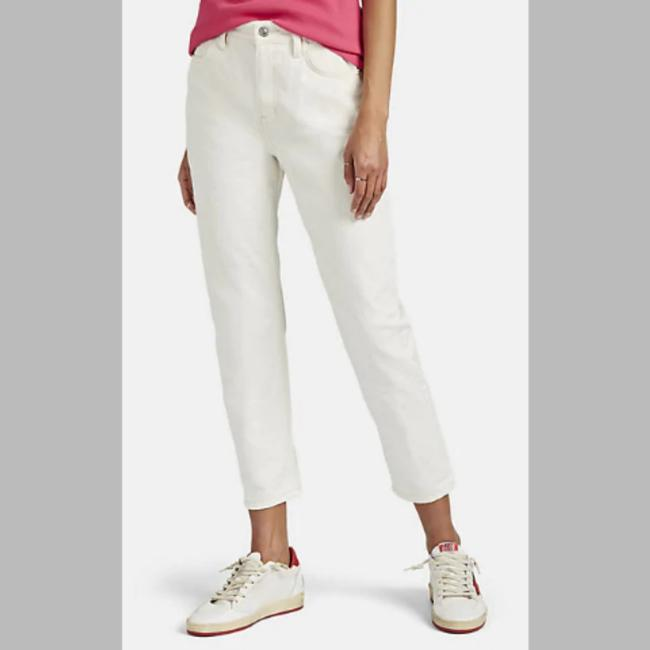 Item - Ivory Light Wash The Vintage Off White Capri/Cropped Jeans Size 27 (4, S)