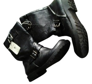 Xhilaration Leather Black Boots