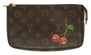Louis Vuitton Monogram Cherry Clutch