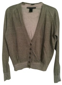 Marc by Marc Jacobs Linen Faded Pleated Cardigan