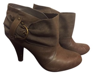 Nine West Suede Leather Military Olive/Military Green Boots