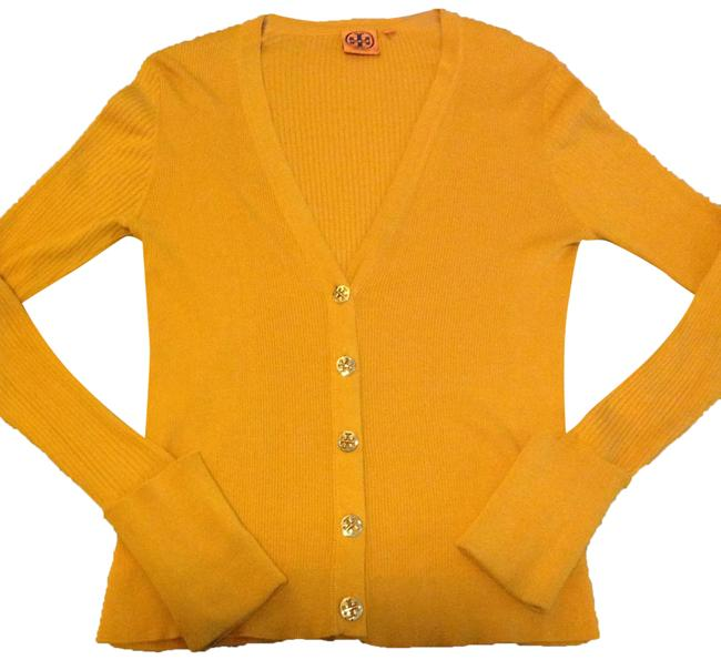 Item - Yellow Cardigan Size 8 (M)