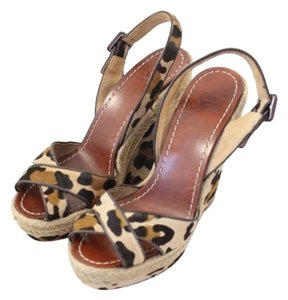 Christian Louboutin Sandals leopard Wedges